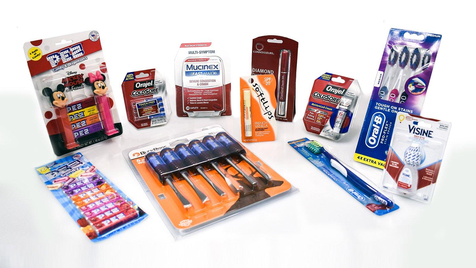 blister card packaging