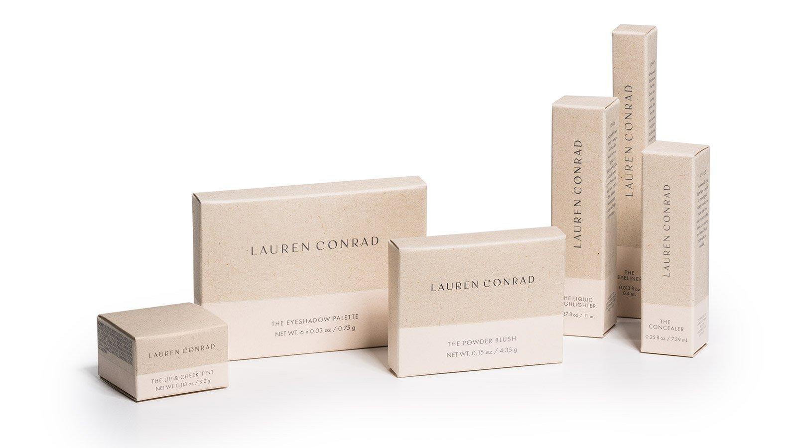 Lauren Conrad Cosmetic Packaging
