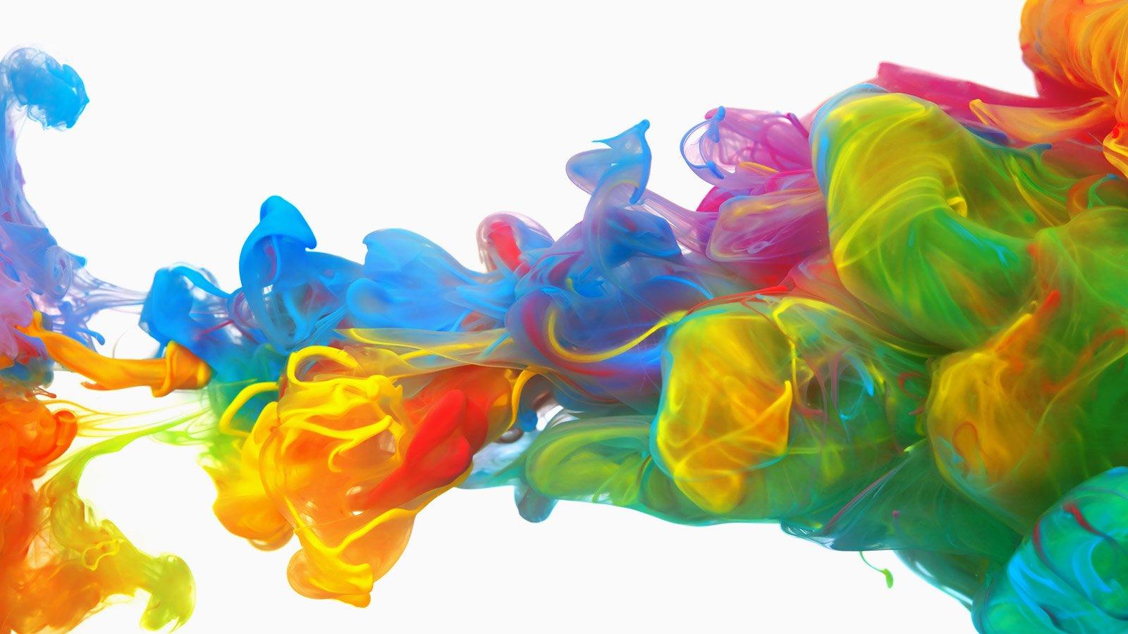 Colors mixing
