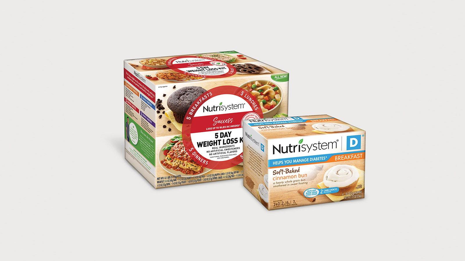 Nutrisystem Folding Cartons