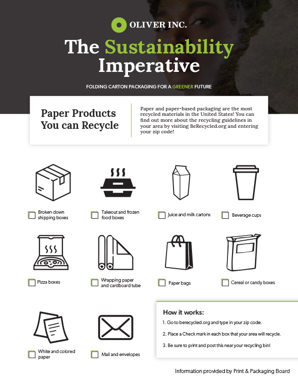 Sustainability Recycle Sheet